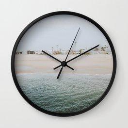 newport beach ii / california Wall Clock