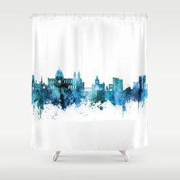 Galway Ireland Skyline Shower Curtain