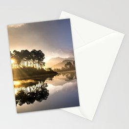 Sunset Reflections on Lake Stationery Cards