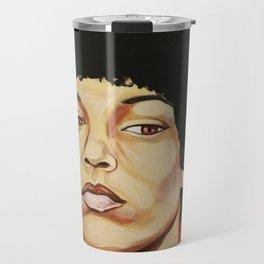 "Angela Davis ""Revolutionary"" Travel Mug"