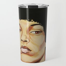 "Angela Davis ""Revolutionary"" Travel Mug"