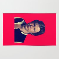 han solo Area & Throw Rugs featuring Han Solo  by Jemma Klein