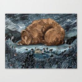 The Lake House Canvas Print
