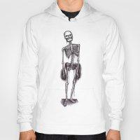 skeleton Hoodies featuring skeleton by CarlyK473