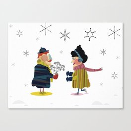 Frank and Wanda Canvas Print