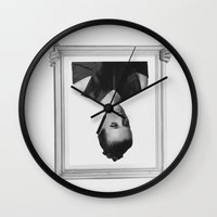 frame Wall Clocks featuring frame by Maressa Andrioli
