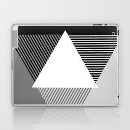 Grey Scale Print, design by Christy Nyboer Laptop & iPad Skin