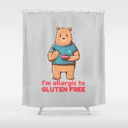 I'm allergic of gluten free Shower Curtain