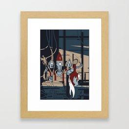 ROBONOMICOM Framed Art Print