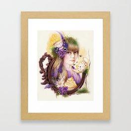 LAVENDER HONEY - TEA SERIES - SHEENA PIKE  Framed Art Print