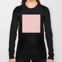 ROSE QUARTZ PANTONE 13-1520 Long Sleeve T-shirt