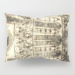 York Minster Cathedral Vintage Pillow Sham