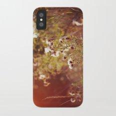 golden dandelions. Slim Case iPhone X