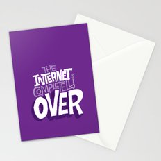 The Internet Is Completely Over Stationery Cards