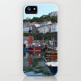 Mevagissey Harbour iPhone Case