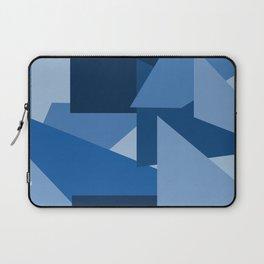 Blu-Geometric Laptop Sleeve