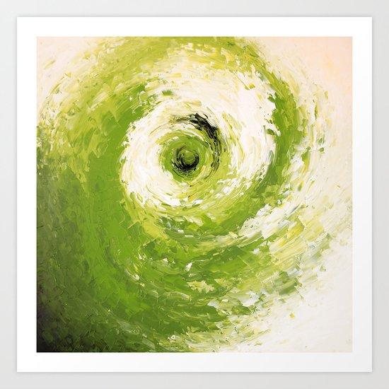 Abstract painting III Art Print