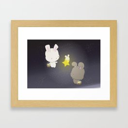 Star Collecting Framed Art Print