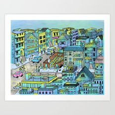 TinaTown Art Print