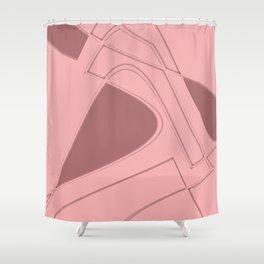 Amazing Pink Shower Curtain