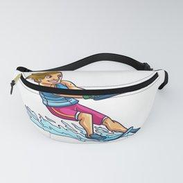 Waterskate Wakeboard Ski Gift Wakeboarding Water Fanny Pack