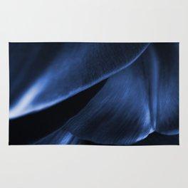 Succulent Leaf In Blue Color #decor #society6 #homedecor Rug
