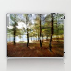 Sunrise at the magic forest Laptop & iPad Skin