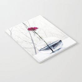 red flower Notebook