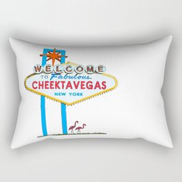 Welcome to Cheektavegas Rectangular Pillow