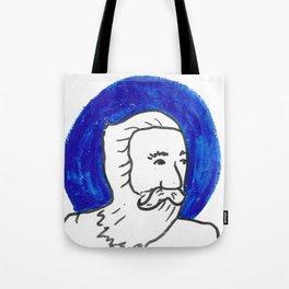 The Blue Man Tote Bag