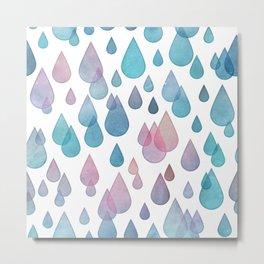 Raindrop Dream Metal Print