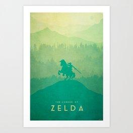 Warrior - The Legend of Zelda Art Print