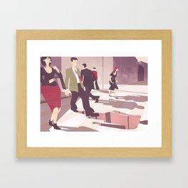 SCIOPHOBIA Framed Art Print