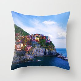 White Light Throw Pillow