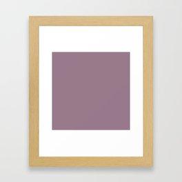 Royal Purple Framed Art Print