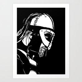Dark Warrior Art Print
