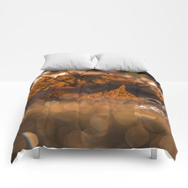 Autumn Bokeh Comforters