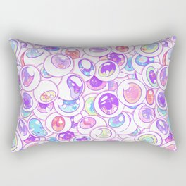 Kawaii Balls Rectangular Pillow