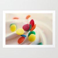 Cupcake III Art Print