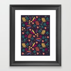 Tropical Forest  Framed Art Print
