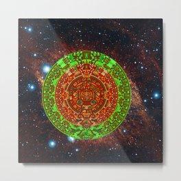 Aztec of nebula Metal Print