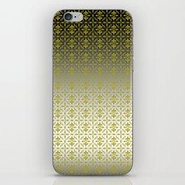 Rebel Damasco blacksilver iPhone Skin