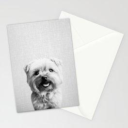 Dog - Black & White Stationery Cards
