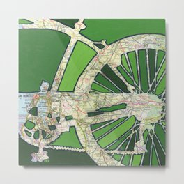 Bike San Francisco Metal Print