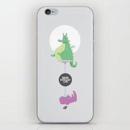 Dragons Ride Rhinos iPhone Skin
