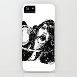 Pain and Pleasure. Yury Fadeev© iPhone Case