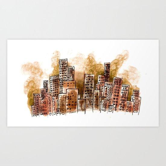 Bicho Art Print