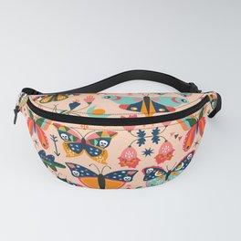 Vintage Butterflies Fanny Pack