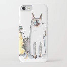 Cat Mates iPhone Case