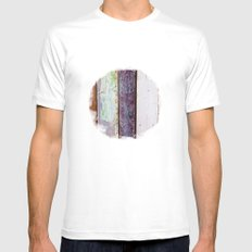 Wood White Mens Fitted Tee MEDIUM